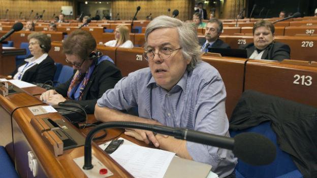 Andreas Gross während einer Versammlung des Europarats am 23. April 2013.