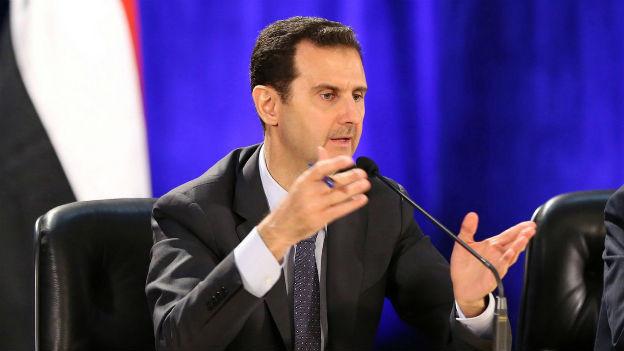 Baschar al-Assad wähnt sich im Vorteil.