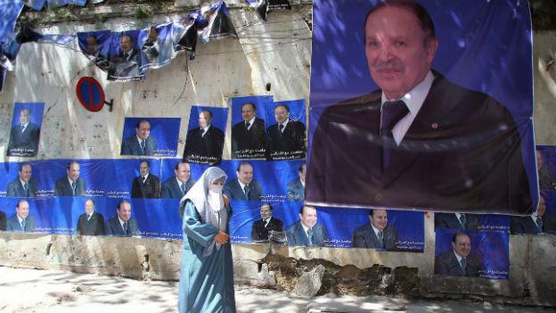 Der neue Präsident in Algerien wird der alte sein: Der hochbetagte Abdelaziz Bouteflika.
