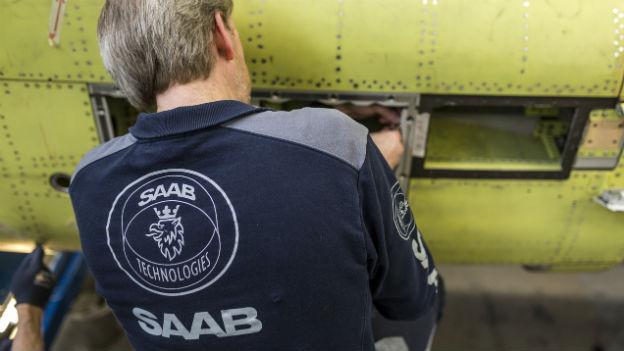 Höhere Militärausgaben - das freut den schwedischen Rüstungskonzern Saab.