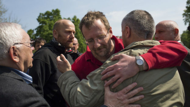 Seit Samstag sind die OSZE-Geiseln wieder frei.