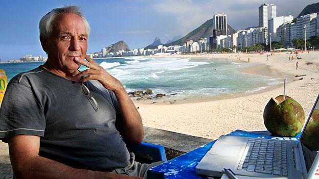 Ruedi Leuthold in Rio de Janeiro.