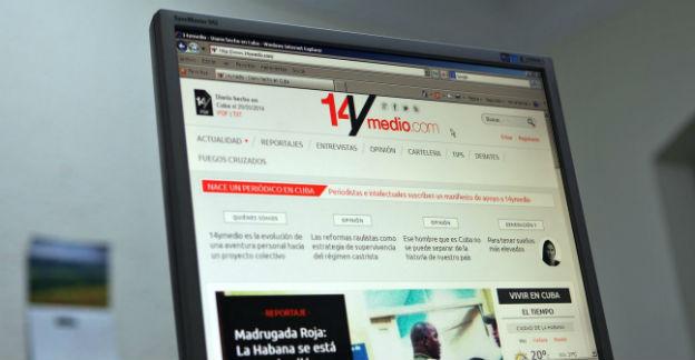 Die erste Ausgabe der Online-Zeitung «14ymedio».