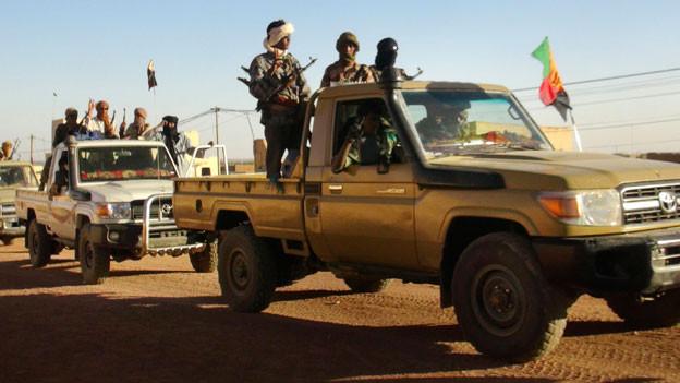 Die Tuareg-Befreiungsbewegung MNLA ist zurück in Kidal. Sie kontrolliert die Stadt mit dem Segen Frankreichs und bekämpft offen die Zentralregierung Malis.