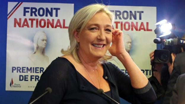 Rechtspopulisten in Europa wie Marine Le Pen in Frankreich sind die grossen Gewinner.
