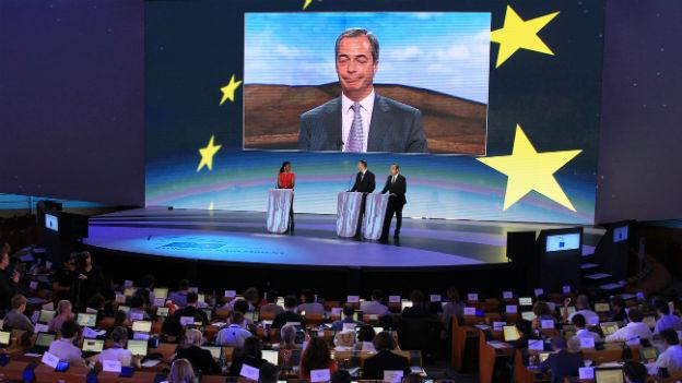 Europawahlen in Grossbritannien.