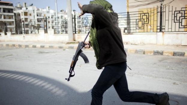 Im Syrienkrieg kämpfen auch Tausende ausländische Islamisten.