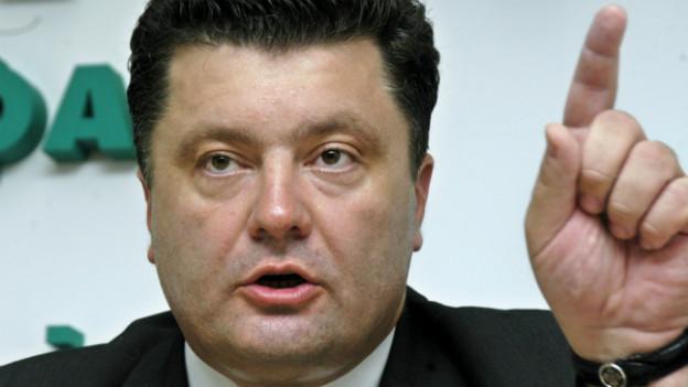 Archiv-Foto des ukrainischen Miliardärs und designierten Staatspräsidenten Petro Poroschenko.