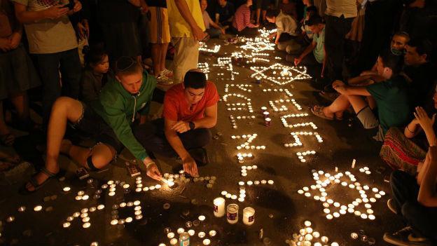 Trauer in Israel nach der Ermordung von drei Jugendlichen.