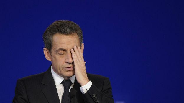 Nicolas Sarkozy an einer Veranstaltung vor zwei Jahren.