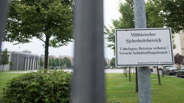 Das deutsche Verteidigungsministerium in Berlin.