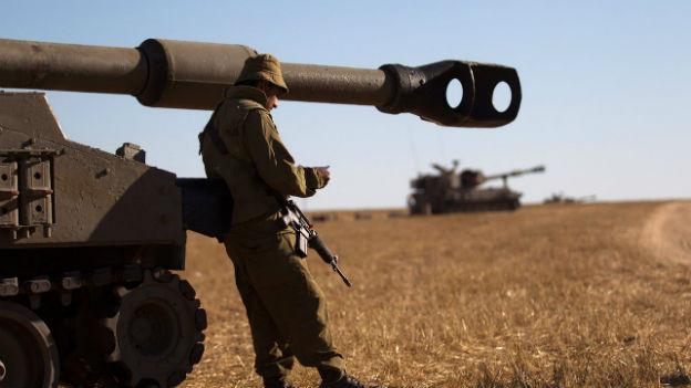 Plant Israel eine Bodenoffensive? Soldat an der Grenze zu Gaza