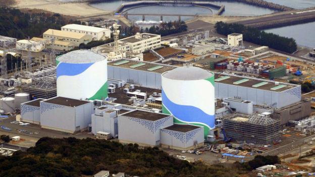 Das AKW in Sendai – im Herbst soll es wieder Strom produzieren.