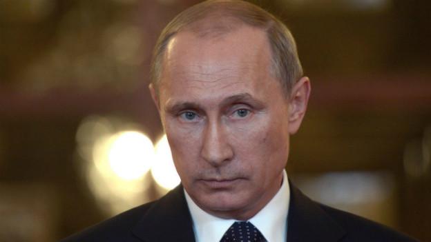 Russlands Präsident Wladimir Putin bei einem Treffen der BRICS-Staaten in Brasilien.