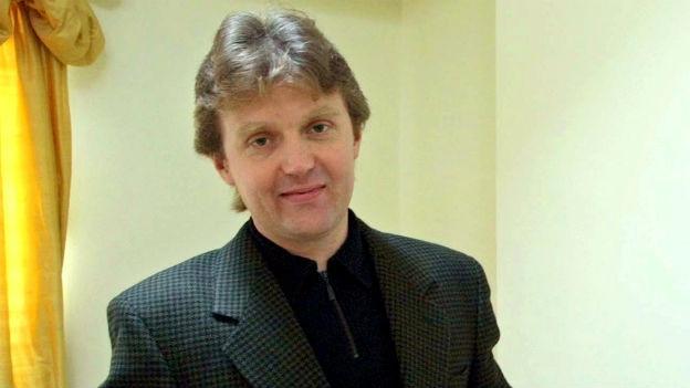 Der verstorbene Alexander Litvinenko auf einer Aufnahme aus dem Jahr 2002.