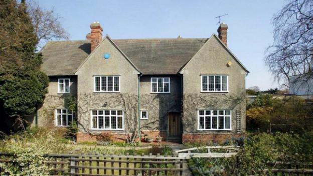 In diesem Haus in Oxford soll J.R.R. Tolkien seine Romane geschrieben haben.