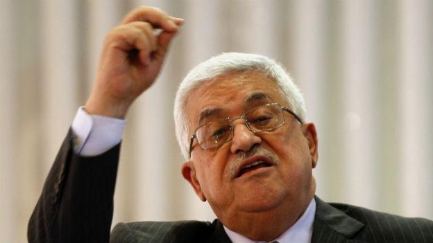 Palästinenserpräsident Mahmud Abbas ist unter Druck.