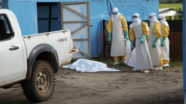 Im Einsatz gegen das Ebola-Virus (hier in Liberia).