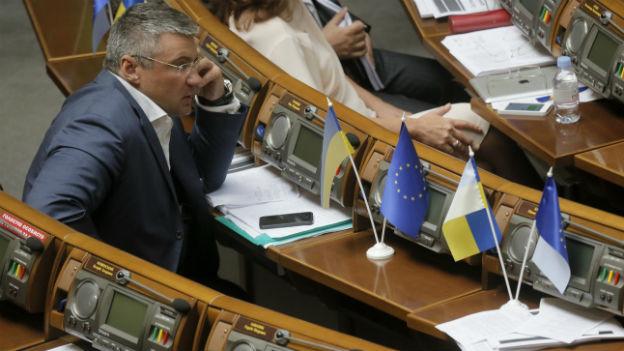 Das ukrainische Parlament bringt mit dem Sanktionsentscheid die EU gegen sich auf.
