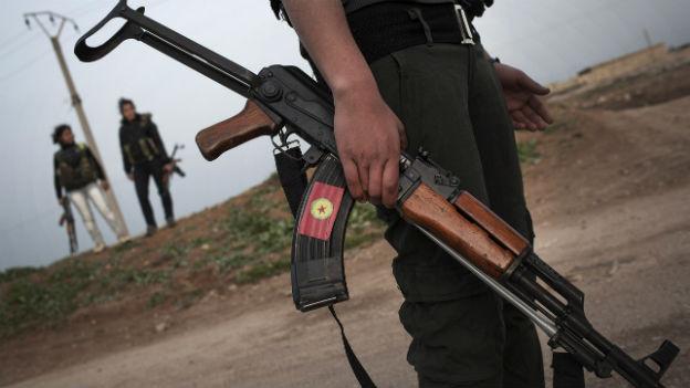 Waffen für Kurden im Kampf gegen Jihadisten.