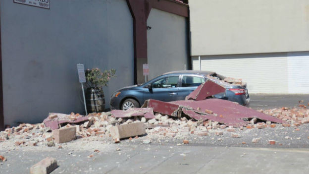 Schäden im Napa-Valley nach dem Beben vom 24. August.