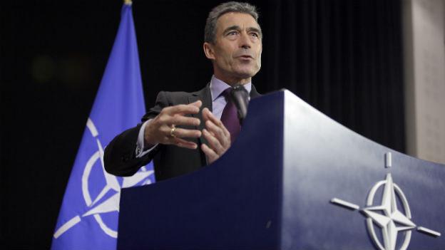 Nato-Generalsekretär Anders Fogh Rasmussen an einem früheren Gipfel der westlichen Militärallianz.