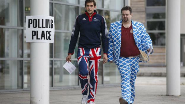 Selbsständig werden oder beim Königreich bleiben? Schottland hat entschieden.