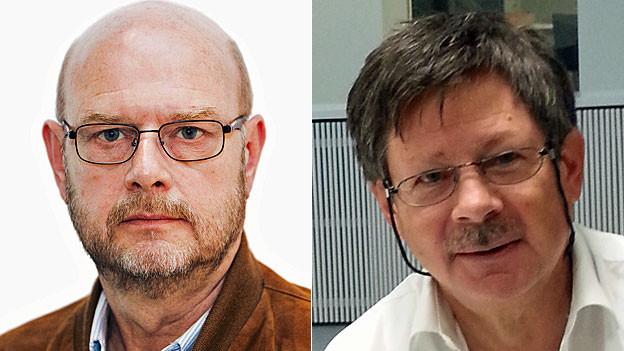 Ulrich Achermann und Thomas Accola.