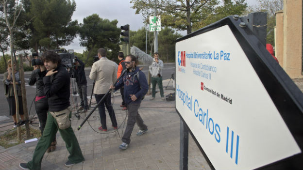 Im Spital im Bild wurde erstmals in Europa eine Person mit Ebola angesteckt.