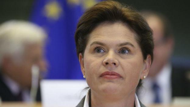 Portrait der ehemaligen slowenischen Regierungschefin Alenka Bratusek