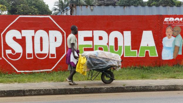 Ebola breitet sich z.B. in Liberia weiter aus (hier Monrovia).
