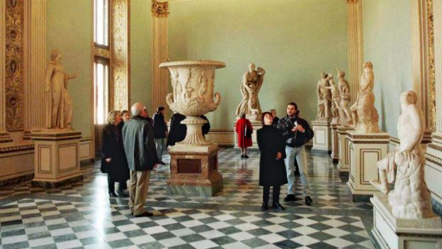 Die Uffizien in Florenz kann man seit neuesten mieten.