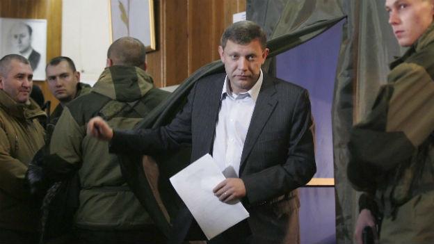 Rebellenführer Donezk