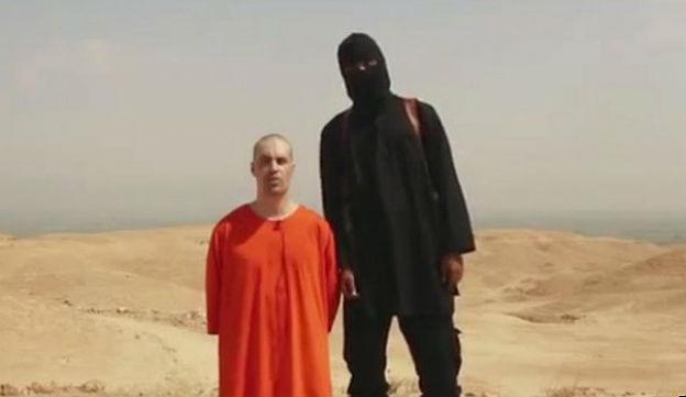 Der Dschihadist im Video.