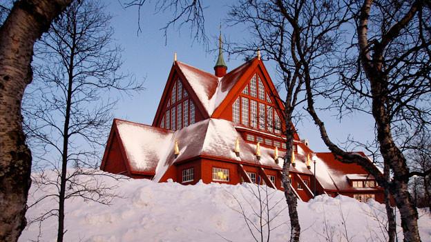 Die Kirche von Kiruna wurde 1912 erbaut. Sie wird abgebaut und im neuen Stadtteil wieder errichtet.