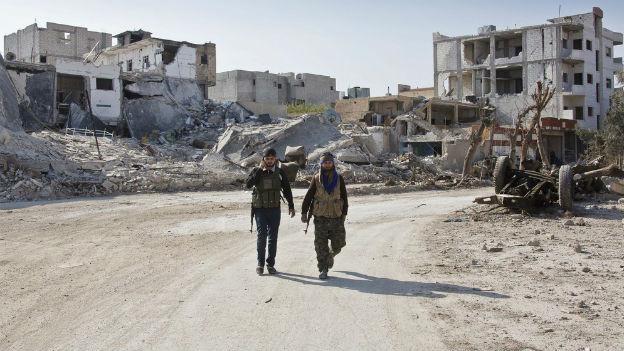 Syrische Vertreter suchen derzeit in Moskau nach Lösungen.