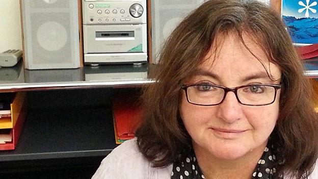 Portrait von SRF-Auslandredaktorin Brigitte Zingg.