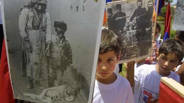100 Jahre Genozid an den Armeniern: Gedenkveranstaltung in Jerusalem 2003.