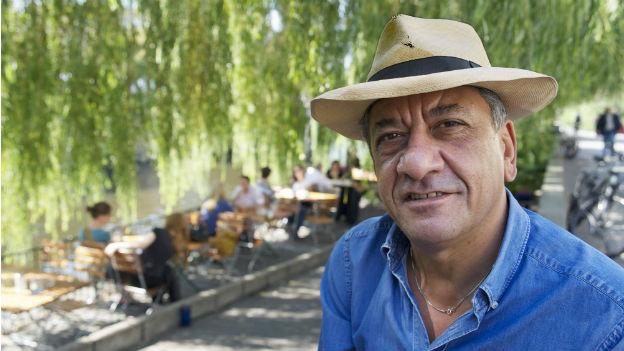 Der irakische Schriftsteller Najem Wali.