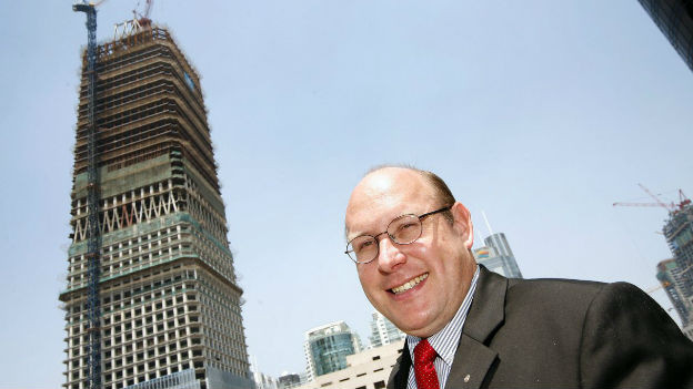 Porträt von Kurt Haerri, Manager der Schindler-Gruppe und ehemaliger Präsident der Handelskammer Schweiz-China