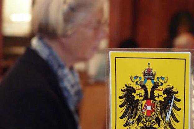 Wimpel der Habsburgischen Donaumonarichie.