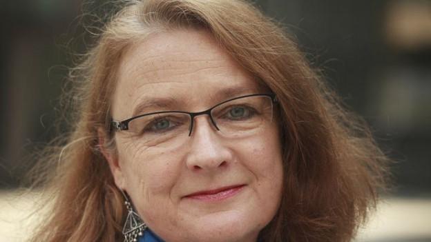 Aufnahme der deutschen Islamwissenschaftlerin und Übersetzerin Larissa Bender.