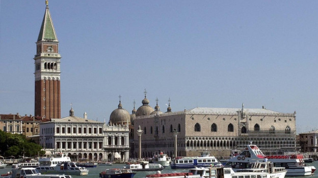 Silhouette von Venedig