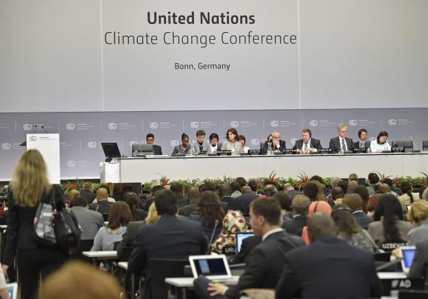 Delegierte an der Klimavorbereitungskonferenz von Bonn