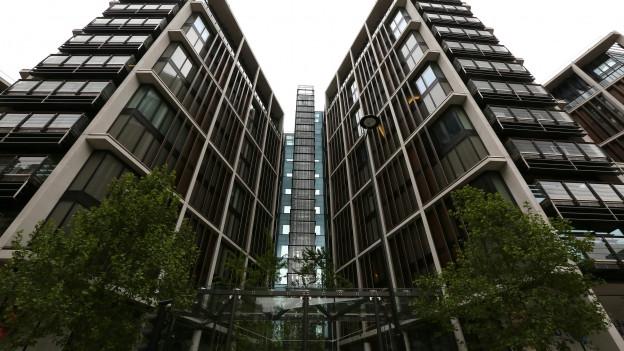 Neu erstelltes Haus mit Luxus-Appartements.