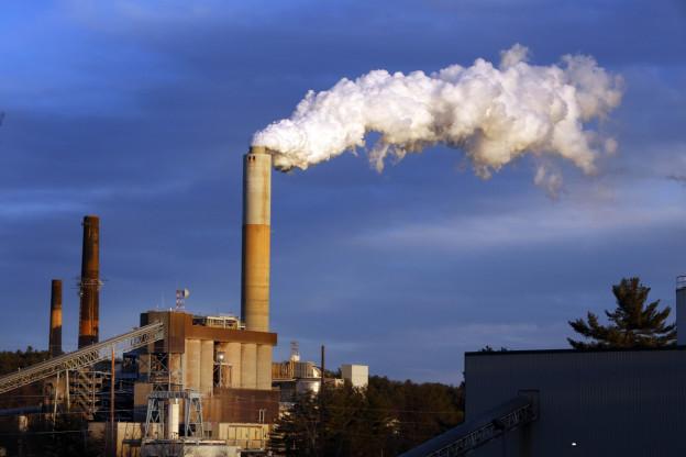 Das Kohlekraftwerk Merrimack im US-Bundesstaat New Hampshire.