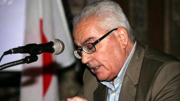 Aufnahme des getöteten Archäologen Khaled al-Asaad.