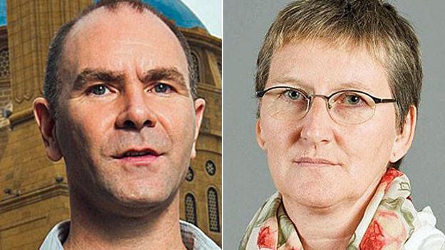 Philipp Scholkmann und Iren Meier, Portraiitbilder.
