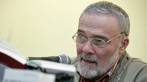 György Dalos liest an der Buchmesse Leipzig.