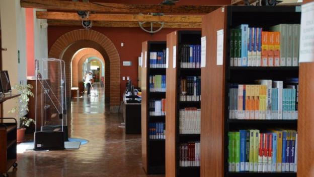 Auf dem Bild ist die Bibliothek der «Wissensstadt» Yachay zu sehen